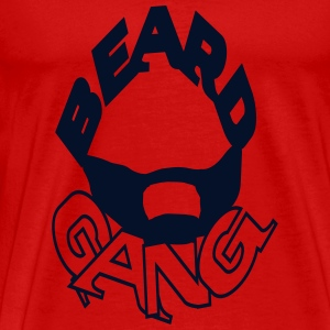 beardgang T-Shirts - Men's Premium T-Shirt
