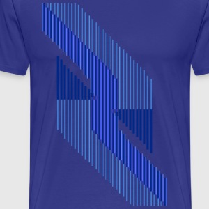 Triangular Rivers That Surely Deliver T-Shirts - Men's Premium T-Shirt