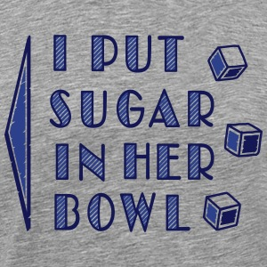 sugar in bowl - for men T-Shirts - Men's Premium T-Shirt