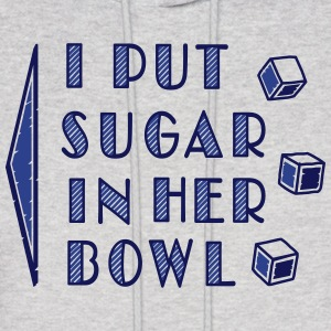 sugar in bowl - for men Hoodies - Men's Hoodie