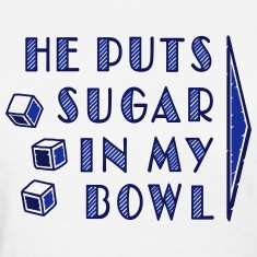 sugar in bowl - for women Women's T-Shirts