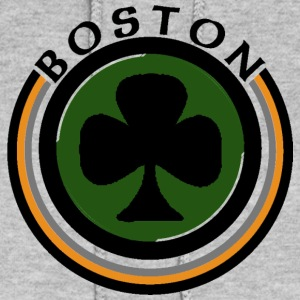 Boston Shamrock Design Apparel Hoodies - Women's Hoodie