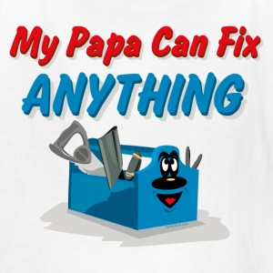 Fix Anything Papa Kids' Shirts - Kids' T-Shirt