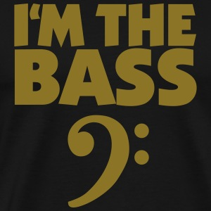 I'm the Bass Gold T-Shirt - Men's Premium T-Shirt