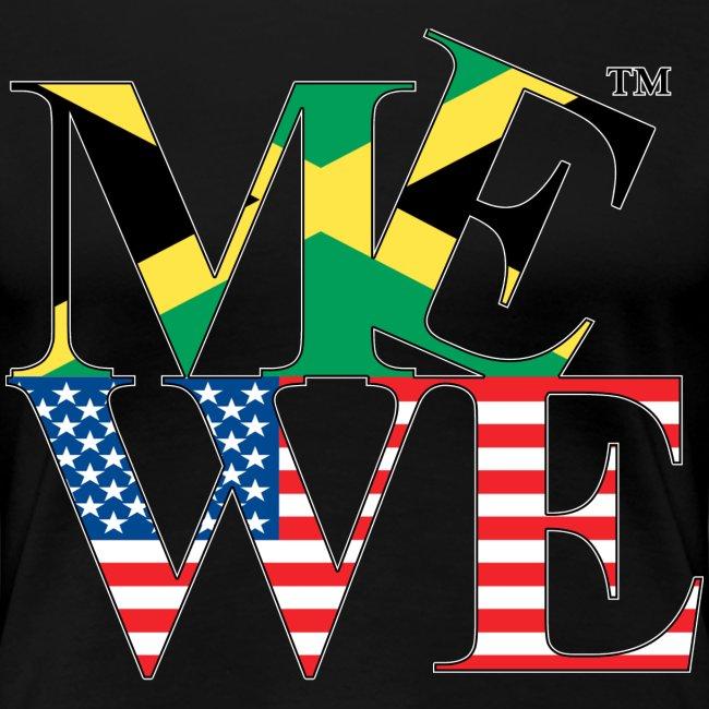 Me We Jamaican Tee (women's)
