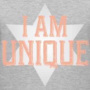 i am unique t-shirt - Women's V-Neck T-Shirt