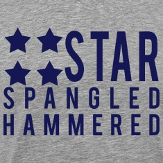 Star Spangled Hammered T-Shirts