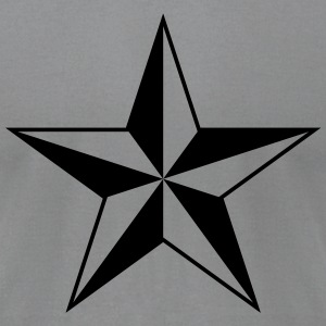Nautical star protection guidance good luck symbol T-Shirts - Men's T-Shirt by American Apparel