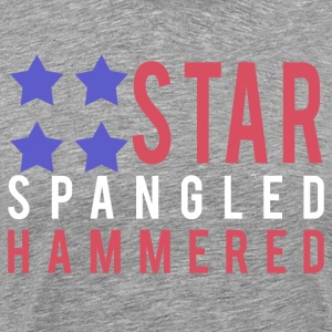 Star Spangled Hammered - Men's Premium T-Shirt