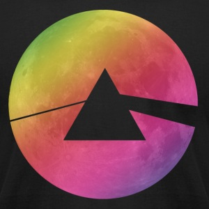 Pink Moon T-Shirts - Men's T-Shirt by American Apparel