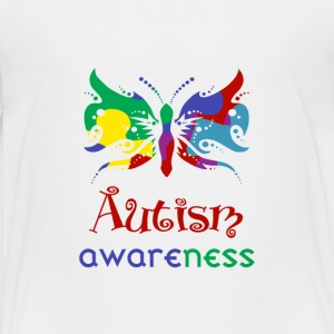 Autism Awareness Butterfly - Kids' Premium T-Shirt