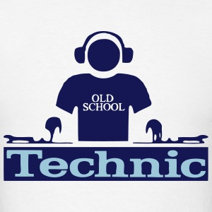 Technic dj - Men's T-Shirt