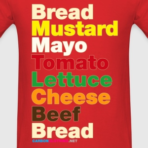 Cheese Burger - Men's T-Shirt