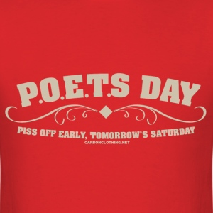 Poets Day - Men's T-Shirt