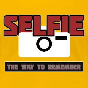 Selfie - The Way to Remember - Women's Premium T-Shirt