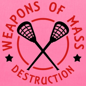 Lacrosse Weapons of Mass Destruction Bags & backpacks - Tote Bag