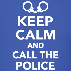 Keep calm call the Police T-Shirts - Men's T-Shirt