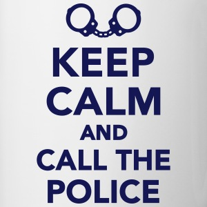 Keep calm call the Police Bottles & Mugs - Contrast Coffee Mug