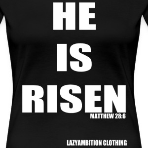Matthew 28:6 - Women's Premium T-Shirt