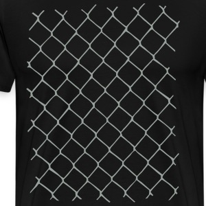 Chain link fence Shirt - Men's Premium T-Shirt