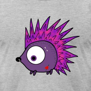 Punk the Hedgehog - Men's T-Shirt by American Apparel