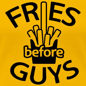 Fries before guys Women's T-Shirts - Women's Premium T-Shirt