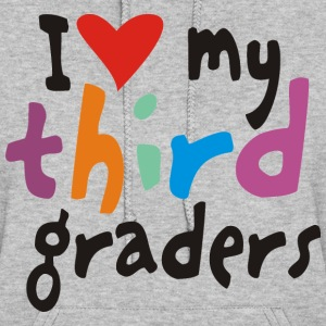 I heart my third graders - Women's Hoodie