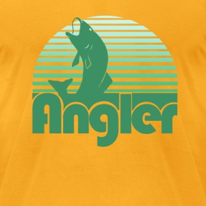Angler - Men's T-Shirt by American Apparel