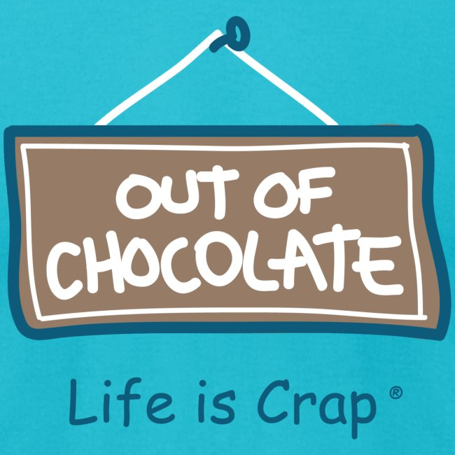 Out of Chocolate - Men's T-shirt by American Apparel