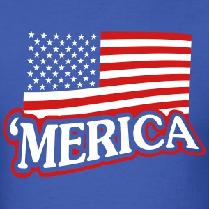 'Merica Shirt - Mens - Men's T-Shirt