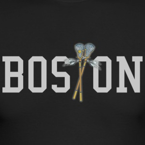 Boston Lacrosse Apparel T-shirts Long Sleeve Shirts - Men's Long Sleeve T-Shirt by Next Level