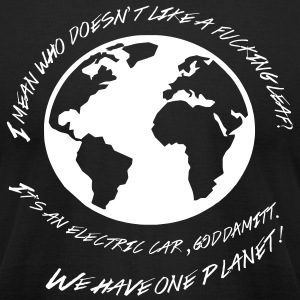 Most Popular Girls Have One Planet T-Shirts - Men's T-Shirt by American Apparel