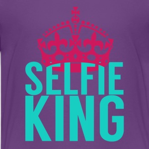 Selfie King - Kids' Premium T-Shirt