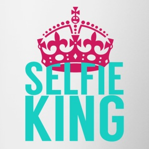 Selfie King - Contrast Coffee Mug