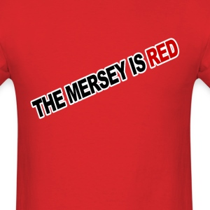 The Mersey Is Red - Men's T-Shirt