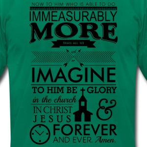 Ephesians 3:20 - Men's T-Shirt by American Apparel