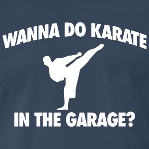 Let's Do Karate T-Shirts - Men's Premium T-Shirt