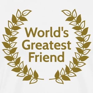 worlds greatest friend T-Shirts - Men's Premium T-Shirt