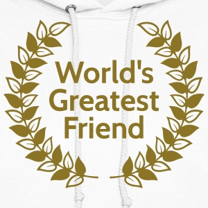 worlds greatest friend Hoodies - Women's Hoodie
