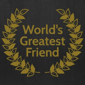 worlds greatest friend Bags & backpacks - Tote Bag