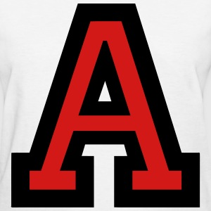 Letter A Filled - Women's T-Shirt