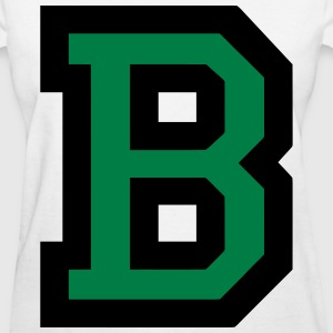 Letter B Filled - Women's T-Shirt