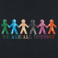 Design ~ Detroit - Michigan Tote Bag