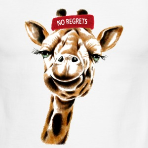 No Regrets Giraffe - Men's Ringer T-Shirt