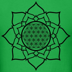 Lotus and Life T-Shirts - Men's T-Shirt