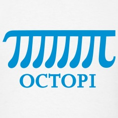 Octopi, Pi, Math, Mathematics, Number, Octopus T-Shirts