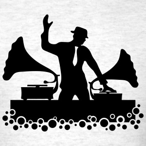 Gramophone DJ, Music Dance Club Party, Gramofone T-Shirts - Men's T-Shirt