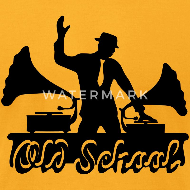 Old School DJ, Gramophone, Music Dance Club Party T-Shirt