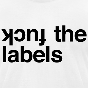KCUF THE LABELS T-Shirts - Men's T-Shirt by American Apparel