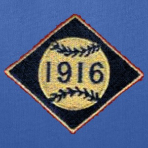 Boston 1916 Baseball Patch Apparel Bags & backpacks - Tote Bag